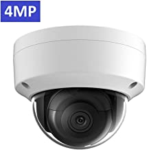 4MP 2K Outdoor PoE IP Camera OEM DS-2CD2143G0-I 2.8mm, Dome Security Camera with EXIR 98ft Night Vision, Smart H.265+ WDR, VAC, SD Card Slot, ONVIF, IP67 IK10