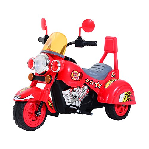 HOMCOM Children Ride On Toy Car Kids Motorbike Motorcycle Electric Scooter...
