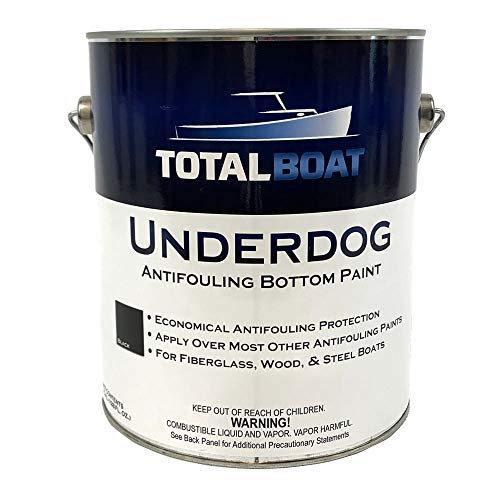 TotalBoat Underdog Bottom Paint (Black) Gallon