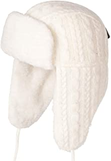 92ddf215d518d Havanadd Chapeau de Trappeur Bonnet épais en Laine Siamois Bonnet en Laine  pour Le Ski en