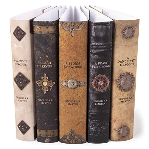 Game of Thrones | Juniper Books Custom Designed Armor Dust Jackets Books NOT Included | Author George R. R. Martin