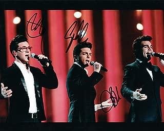 IL VOLO (Piero Barone, Ignazio Boschetto, & Gianluca Ginoble) 8x10 Music Photo Signed In-Person