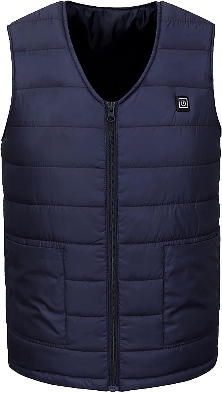 Lightweight unisex Heated Vest for Fleece Men Boston Mall Women