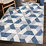 ReaLife Machine Washable Rug - Stain Resistant, Non-Shed -...
