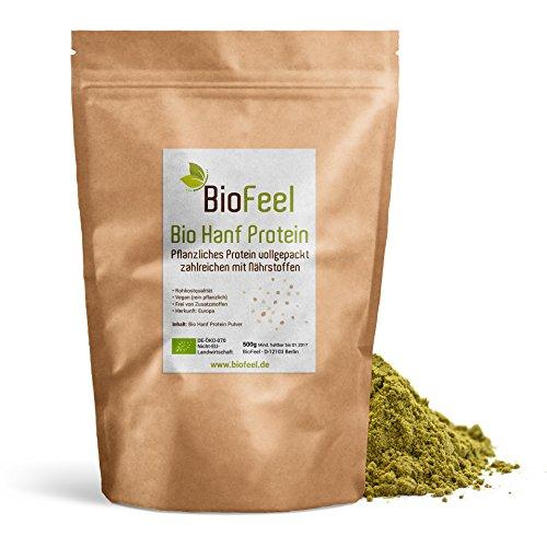 BioFeel - Bio Hanf Protein Pulver, 500g