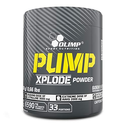 Olimp Pump Xplode Powder 300g Preworkout mit Vitamin Beta Alanin Starke Muskeln Kraft (Cola)