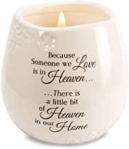 Pavilion Gift Company 19177 in Memory of Loved One Ceramic Soy Wax Candle