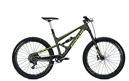 Mountainbike Focus Sam C SL 11G SRAM X01 27,5 ' heren, framehoogte:52; kleur: olijfgroen