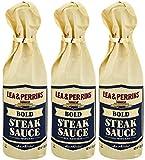 Lea & Perrins Bold Steak Sauce 12 Oz (Pack of 3)
