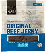 People's Choice Beef Jerky - Classic - Original - High Protein Meat Snack - 3 Ounce Bag (Pack of 3)