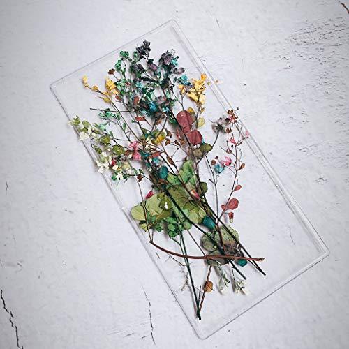 ruiruiNIE Fleurs séchées Nail Décoration Gradient Leaf Petal Dry Floral Sticker 3D Nail Art
