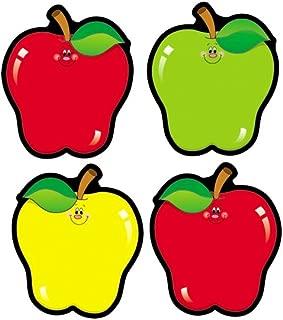 Carson Dellosa – Apples Colorful Cut-Outs, Fall Classroom décor, 36 Pieces, Assorted Designs