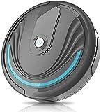 LLKK Limpiador de vacío inalámbrico Automático Smart Vacuum Cleader Limpieza Sweeper Silent Strong Succión Negro Home Smart Vacuum Limpieza (Color: Negro, Tamaño: Un tamaño)