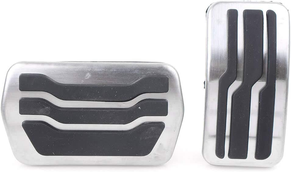 GZYF Stainless Steel 2021 model Weekly update 2Pcs AT Accelerator Pedal Gas Brake