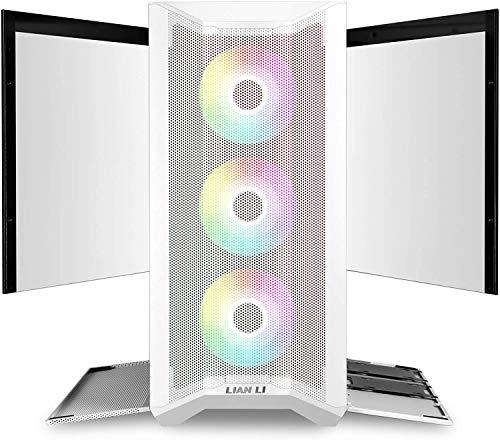 LAN2MRW LANCOOL II Mesh RGB Blanco LAN2MRW Vidrio Templado ATX Case - Color Blanco - LANCOOL II Mesh RGB Blanco… 3