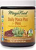 MegaFood, Daily Maca Plus for Men Powder, Supports Overall Health and Vitality, Drink Mix Supplement Vegan, 1.57 oz (30 Servings)