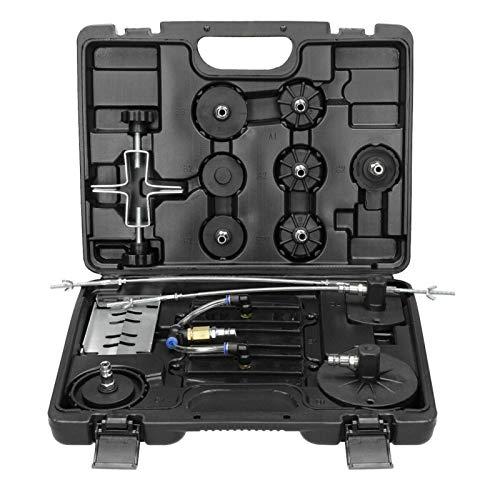 Shoze 15pcs Werkzeugadaptersatz Für Druckluftbremsentlüfter Bremsentlüfter E20 Pneumatische Bremsdrossel