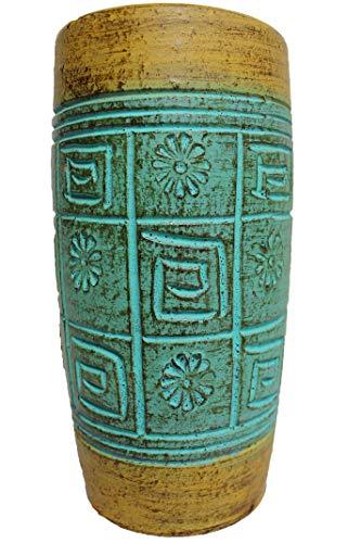 Rotfuchs Vase Tonvase Terracottavase Blumenvase aus Ton 26 cm Handarbeit Dekoration