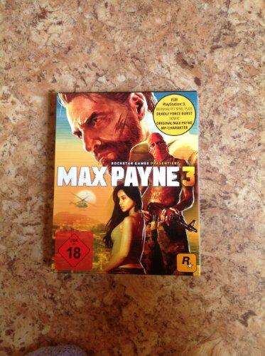 Max Payne 3 Exklusiv Edition, PS3, Neu OVP