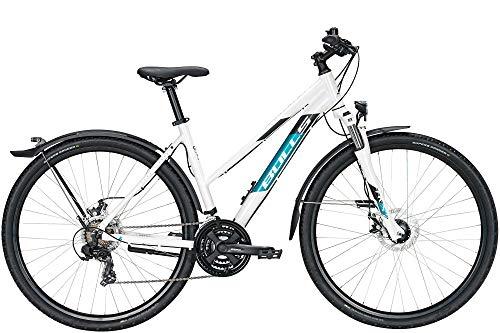 BULLS Wildcross Street 28 Zoll Damenfahrrad Crossrad 2021, Farbe:weiß, Rahmenhöhe:48 cm