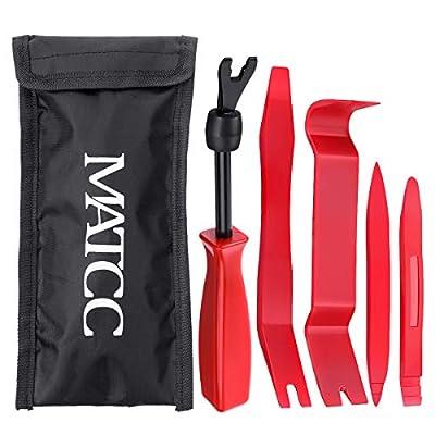 MATCC Trim Removal Tool Kit 5pcs Car Panel Remo...