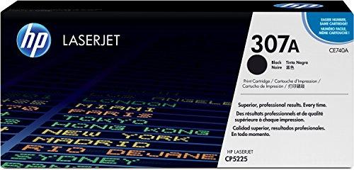 HP 307A (CE740A) Schwarz Original Toner für HP Color Laserjet Pro CP5225
