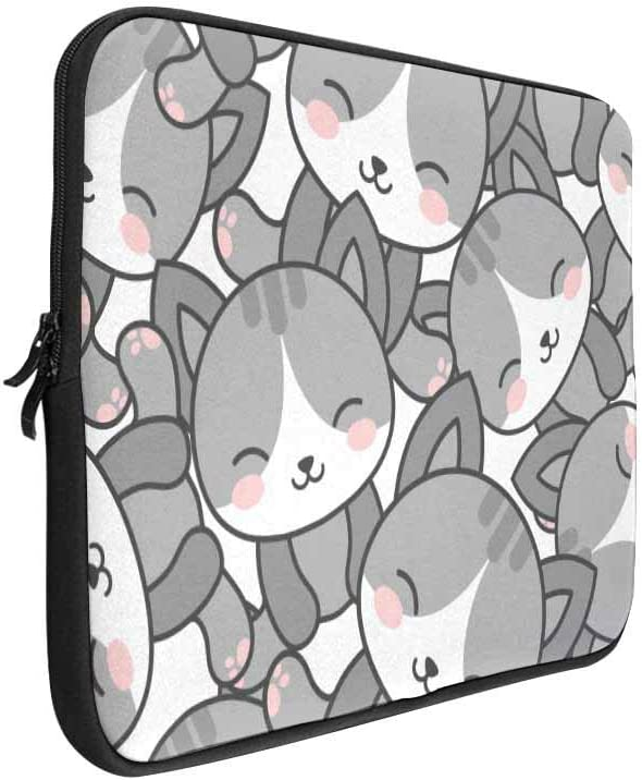 INTERESTPRINT 13 Inch 13.3 Inch Laptop Sleeve Bag Cute Cat Unicorn Notebook Computer Carrying Case Cover