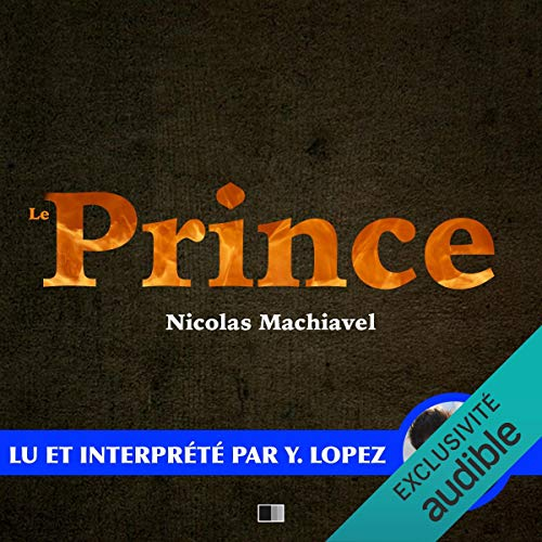 Le Prince audiobook cover art