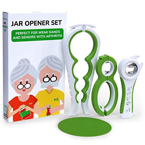 Healthy Seniors Jar Opener Set - The Jar Opener...