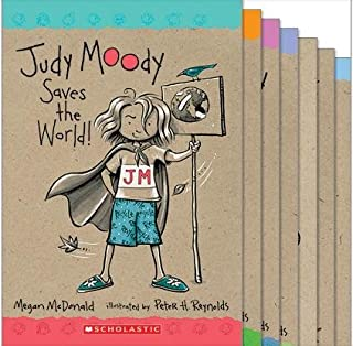 Judy Moody Series Complete Collection of 9 Books Includes: (Judy Moody; Gets Famous!; Saves the World; Judy Moody Predicts...