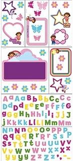 Blue Mountain Wallcoverings 31720519 Nickelodeon Dora Explorer Self-Stick Photo Frame Decor Kit