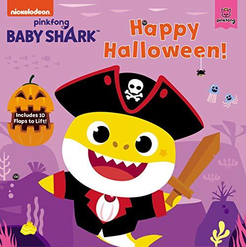 Baby Shark: Happy Halloween!: Includes 10 Flaps to Lift!