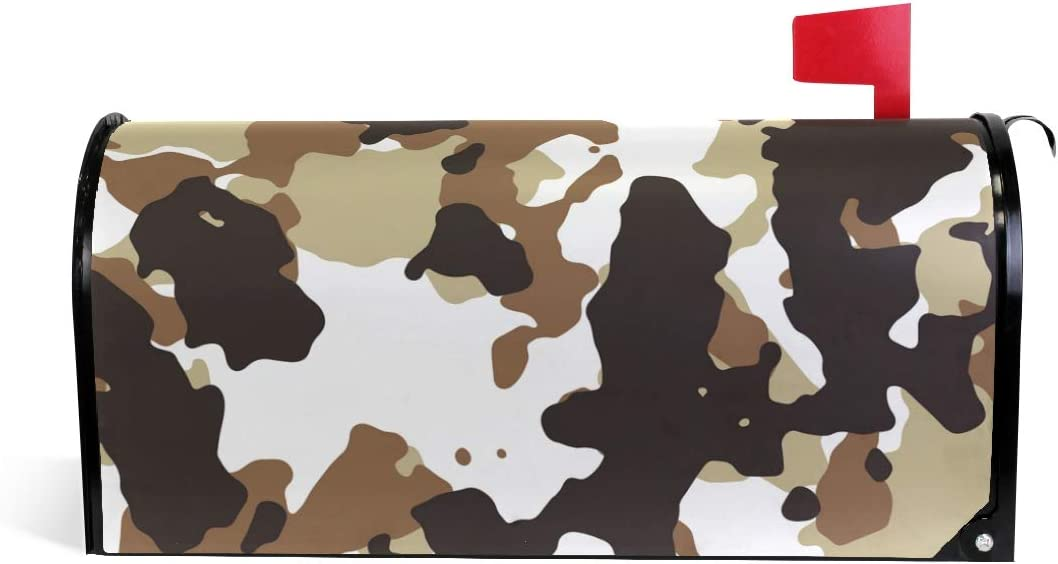 Printedin3D Military Camo Camouflage for Magnetic Now on sale Mailbox Cheap mail order shopping Cover