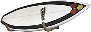 COR Surf Surfboard Wall Rack for Longboards and Shortboards | Beautiful Wood Wall Display Mount Works Indoor and Outdoor
