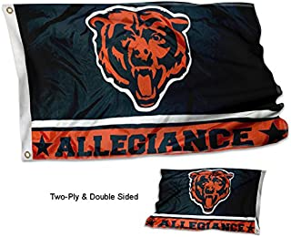 WinCraft Chicago Bears Double Sided Allegiance Flag