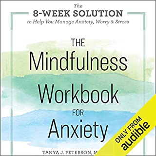 The Mindfulness Workbook for Anxiety cover art