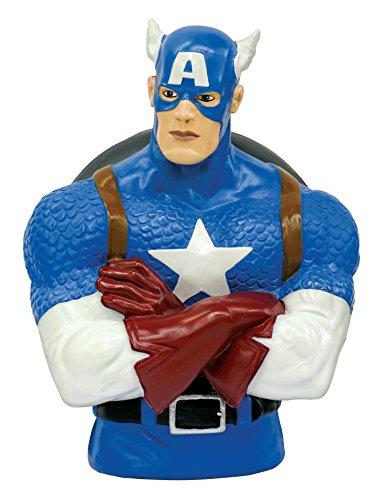 Monogram - MG67013 - Figurine - Captain America Bust Bank - Tirelire PVC