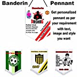 Sports Pennant/benderine Customized with your Sports/Clubs/School/Stammbaum/FUNCTIONS/Partys -