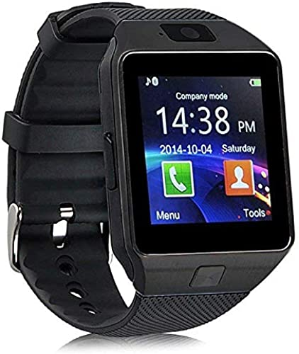 Smart Watch Bluetooth Phone Call smartwatches with Sim and Bluetooth Call Fitness Tracker Smart Watches for Men Women Boys and Girls smartwatches Black