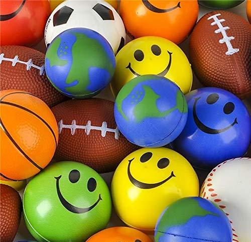Rhode Island Novelty Stress Ball Toy Assortment 25 Pieces Per Order