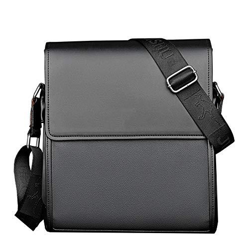 Aktentasche - Umhängetasche, Herrentasche, Umhängetasche groß schwarz 25 * 28 * 7cm