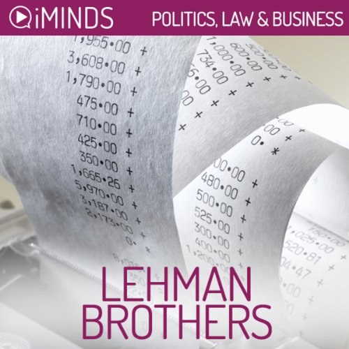 Lehman Brothers audiobook cover art