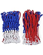 Raisco R706A Silky Basketball Net, Pack of 2 (Multicolour)