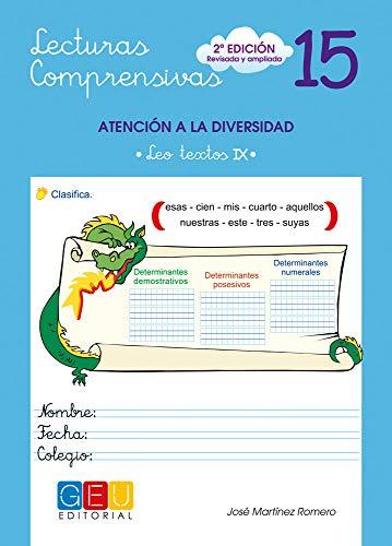 Lecturas comprensivas 15 (Niños de 9 a 10 años)