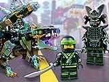 LEGO NINJAGO Mashup: Garma Mecha Man + Green Ninja Mech Dragon