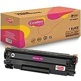 Excellent Print CE278A 78A Compatible Cartucho de Toner para HP Laserjet Pro MFP M1536dnf P1566 P1606