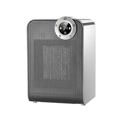 Heizlüfter Heizungen Heizung 900W, 1800W Mini-Tisch Büro, Bad Fernbedienung Intelligent Digital Display Thermostat 8...