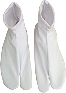 Calcetines blancos japoneses Ninja/Geisha/Geta/calcetines Kimono Calcetines Tabi para unisex