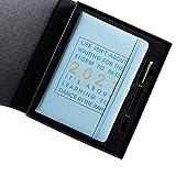 Hengqiyuan 2021 Schedule Prenota 365 Giorni Piano di Giorno Taccuino Notebook Squisito Blocco Note Tempo Gestione del Calendario del Calendario dell'efficienza,Nordic Blue