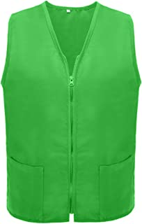 TOPTIE Two Pockets Volunteer Vest Supermarket Cobbler Apron Vest